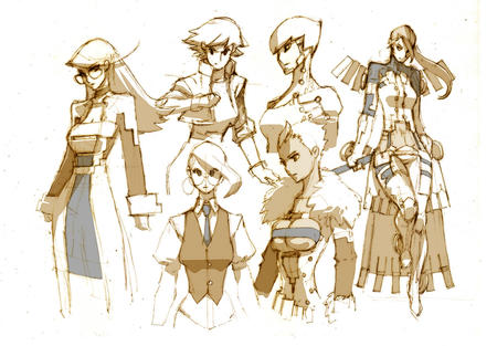 composite dress glasses group jacket sketch // 1088x756 // 267.3KB