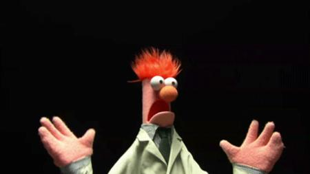 animated beaker muppets reaction // 400x225 // 214.2KB