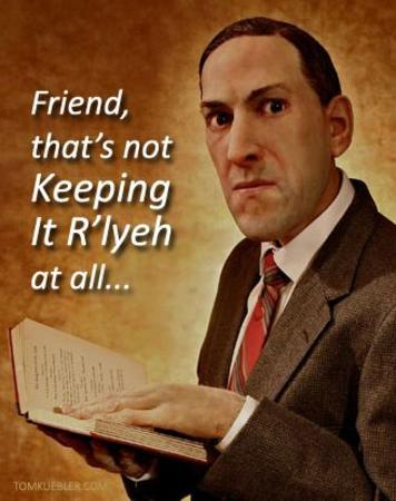 book humor lovecraft reaction rlyeh // 327x413 // 29.7KB
