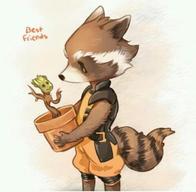 groot guardians_of_the_galaxy marvel racoon rocket_racoon // 480x469 // 24.9KB