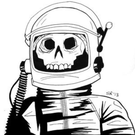 bw skeleton spacesuit // 300x300 // 34.6KB