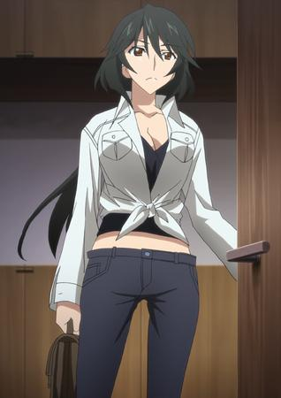 brunette chifuyu infinite_stratos screenshot // 1628x2306 // 2.1MB