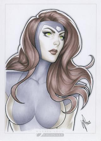 green_eyes jean_grey marvel redhead warren_louw x-men // 587x822 // 706.3KB
