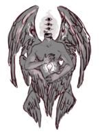 angel creepy nightvale wings // 500x671 // 283.3KB