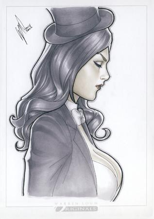 bowtie brunette cleavage dc hat top_hat warren_louw zatanna // 580x824 // 666.0KB