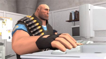 animated heavy reaction tf2 thumbs_up // 300x169 // 1.3MB