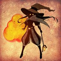 black_mage cape final_fantasy fire hat staff // 700x700 // 302.7KB