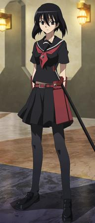 brunette pleated_skirt screenshot seifuku short_skirt skirt sword // 1280x3004 // 1.1MB