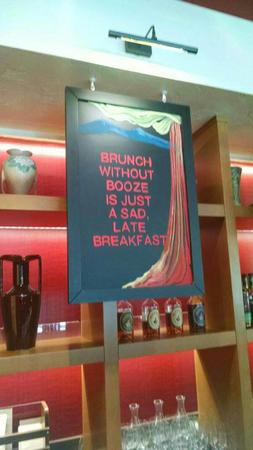 brunch humor photo sign // 600x1066 // 60.1KB