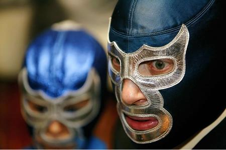 blue_demon luchador mask photo // 600x400 // 120.6KB