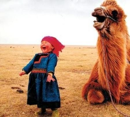 camel child photo reaction // 400x360 // 38.8KB