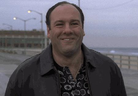 animated reaction screenshot the_sopranos // 500x347 // 1.2MB