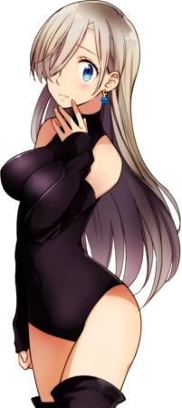blonde blue_eyes elizabeth_liones gray_hair leotard long_hair nanatsu_no_taizai thighhighs // 490x1095 // 506.0KB