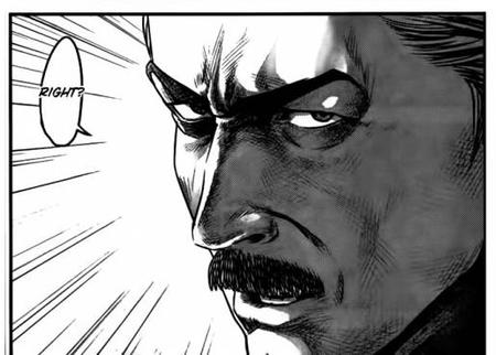 bw comic manga mustache prison_school reaction // 516x369 // 44.0KB