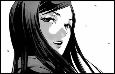 brunette bw comic long_hair manga prison_school // 496x322 // 31.9KB