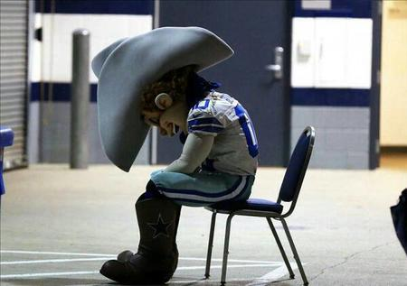 cowboys hat mascot nfl photo // 600x422 // 29.8KB