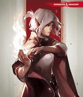 cape cover dnd elf fire white_hair // 2063x2397 // 414.0KB