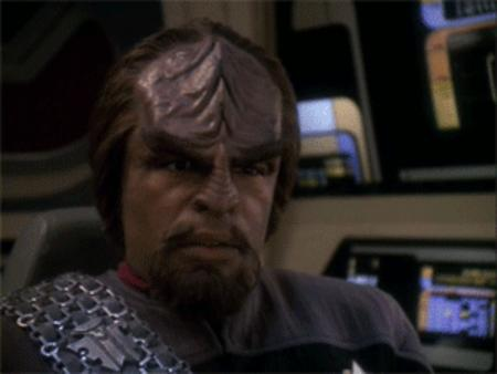 animated facepalm reaction star_trek sttng worf // 300x225 // 897.3KB