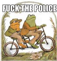 bicycle fuck_the-police macro toad // 236x251 // 13.6KB