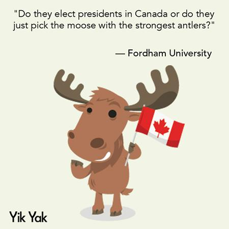 canada flag humor moose political quote yik_yak // 526x526 // 108.0KB