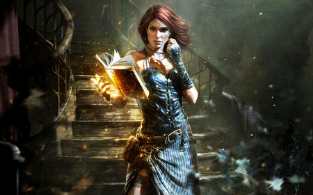 book brunette dress stairs // 1440x900 // 888.3KB