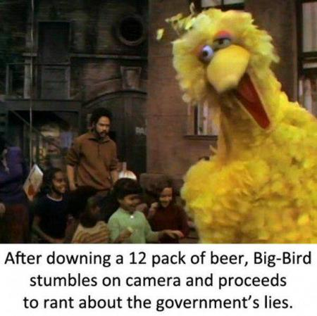 big_bird drunk humor sesame_street // 600x598 // 47.1KB