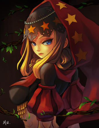 blonde blue_eyes hood odin_sphere velvet // 900x1165 // 156.7KB