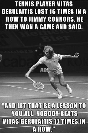 bw humor macro photo tennis // 600x905 // 86.9KB
