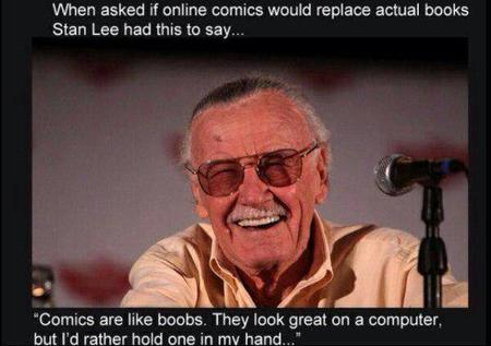 humor quote stan_lee // 600x423 // 35.8KB