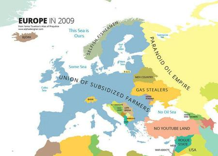 europe humor map // 920x657 // 53.6KB