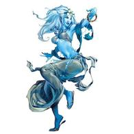 blue_skin dancer genasi harem_pants sandals // 480x480 // 24.0KB