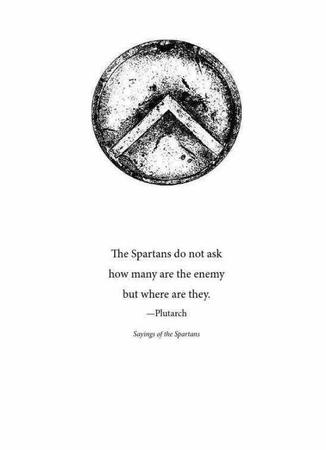 bw plutarch quote shield sparta // 600x828 // 38.9KB