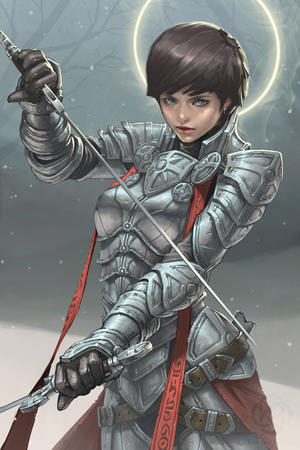 armor blue_eyes brunette gloves halo sword // 600x900 // 168.3KB