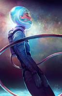 blue_hair spacesuit // 600x919 // 431.9KB
