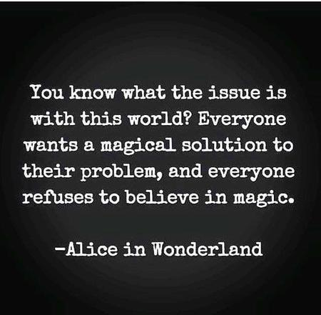 alice_in_wonderland bw magic quote // 640x627 // 37.8KB