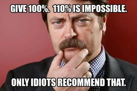 blue-eyes brunette macro mustache photo quote ron_swanson // 500x333 // 30.9KB