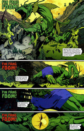 comic fin_fang_foom humor marvel nextwave shorts // 1024x1589 // 598.6KB