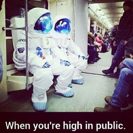 marijuana photo spacesuit subway train // 640x640 // 56.2KB