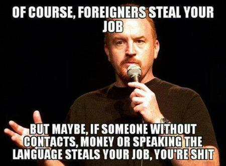 humor immigrants louie_ck macro quote // 600x441 // 46.3KB