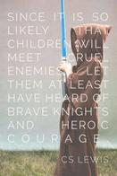 cs_lewis hero hood lightsaber motivational quote robe // 500x750 // 46.9KB