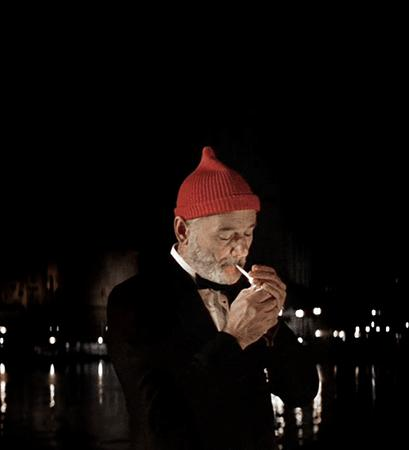 animated beard bill_murray cigarette hat reaction the_life_aquatic tuxedo // 500x550 // 1.0MB