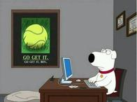 dog family_guy motivational poster tennis // 600x448 // 25.0KB