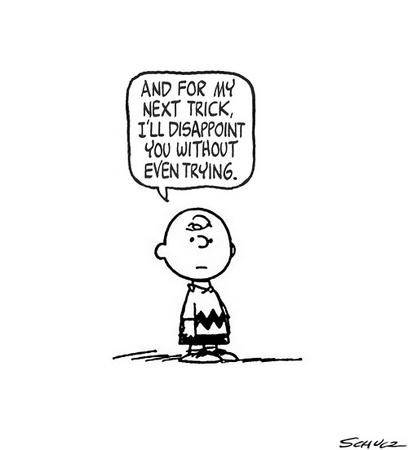 bw charlie_brown comic disappoint peanuts // 500x552 // 31.2KB