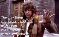 doctor_who gun_control nra scarf screenshot screwdriver the_doctor tom_baker // 1024x640 // 165.9KB