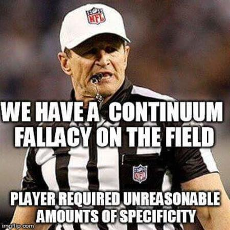 continuum fallacy macro nfl reaction referee // 400x400 // 28.7KB
