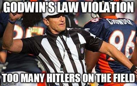 fallacy godwin hitler macro nfl reaction referee // 510x320 // 33.4KB