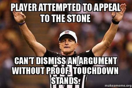 appeal_to_the_stone fallacy macro nfl reaction referee // 610x406 // 37.2KB
