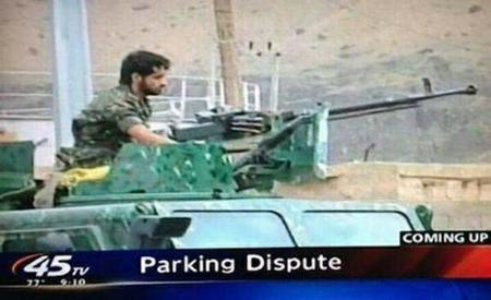 caption gun humor parking screenshot // 600x366 // 30.6KB