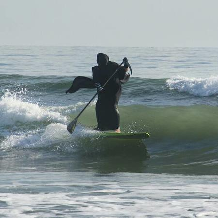 death hood paddle photo robe scythe surf wave // 600x600 // 39.0KB