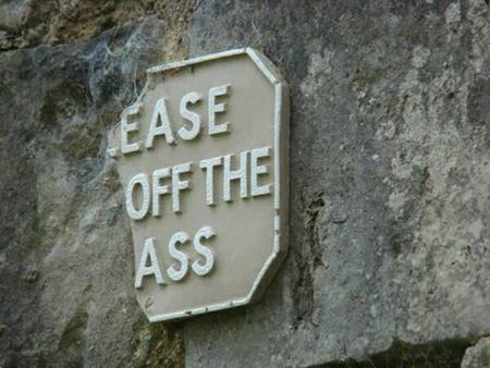 ass humor photo reaction sign // 600x450 // 42.8KB